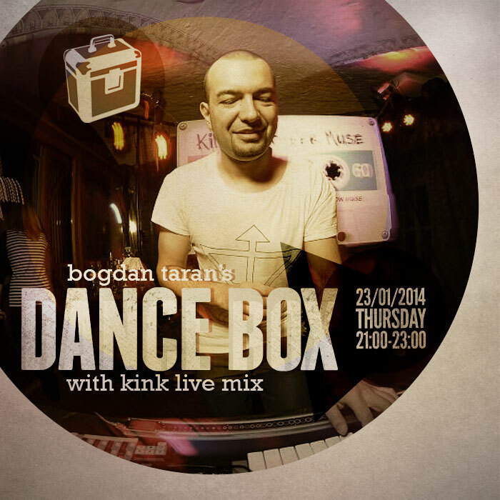 Dance Box with KiNK live recorded at Amber Muse party // 23.01.2014