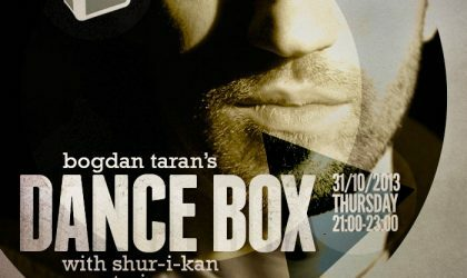 Dance Box with Shur-I-Kan (Dark Energy, UK) guestmix // 31.10.2013