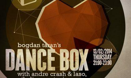 Dance Box with Nikulin, Andre Crash & Laso guest mixes // 13.02.2014