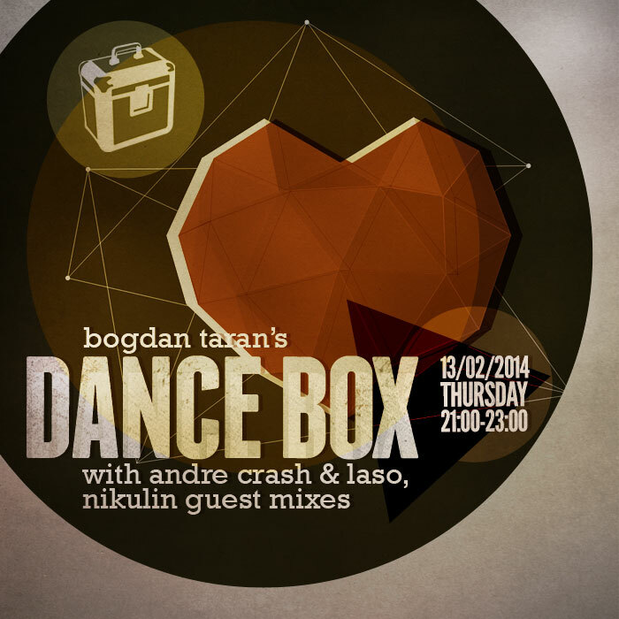 Dance Box with Nikulin, Andre Crash & Laso guest mixes // 13.02.2014