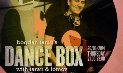 Dance Box feat. Taran & Lomov and DJ Cute mixes // 26.06.2014