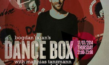Dance Box feat. Matthias Tanzmann and Andre Crash & Laso mixes // 17.07.2014