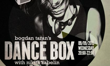 Dance Box feat. Nikita Zabelin guest mix & interview // 09.09.2015