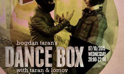 Dance Box feat. Taran & Lomov [spek-truhm] mix // 07.10.2015