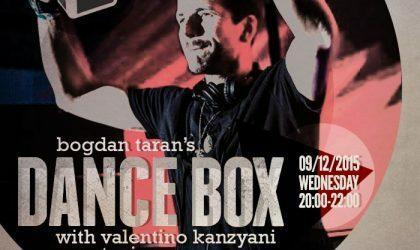 Dance Box feat. Valentino Kanzyani guest mix & Roberto Rodrgiuez interview // 09.12.2015