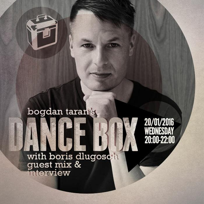 Dance Box feat. Boris Dlugosch guest mix & interview // 20.01.2016