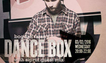 Dance Box feat. Siprut guest mix // 03.02.2016