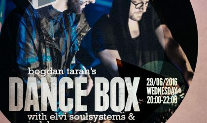 Dance Box with Elvi Soulsystems and Judzhen guest mixes // 29.06.2016