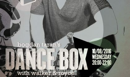Dance Box with President Bongo and Walker & Royce guest-mixes // 10.08.2016