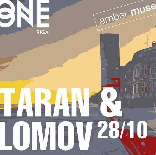 "Taran & Lomov ""Blink"" EP launch party / 28 OCT"