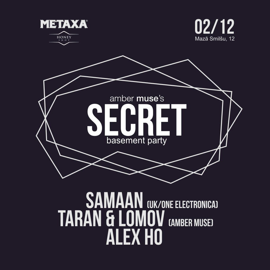 Samaan (UK) at Secret Basement Party / 02 Dec