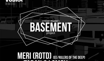 Amber Muse's Basement: DJ Meri (Rulers of the Deep) / 13 Jan