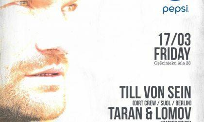 EVENT: Till von Sein (Berlin) at Secret Garden / 17 March