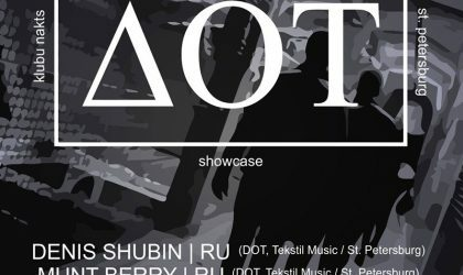 EVENT: Amber Muse pres DOT (St. Petersburg) night / 05 May