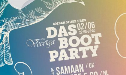 EVENT: Amber Muse's DAS BOOT party // 2 June