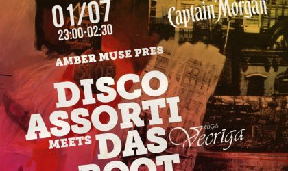 EVENT: Disco Assorti meets DAS BOOT / 1 JULY