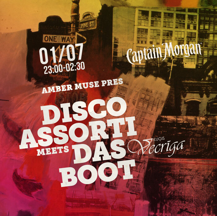 EVENT: Disco Assorti meets DAS BOOT / 1 JULY