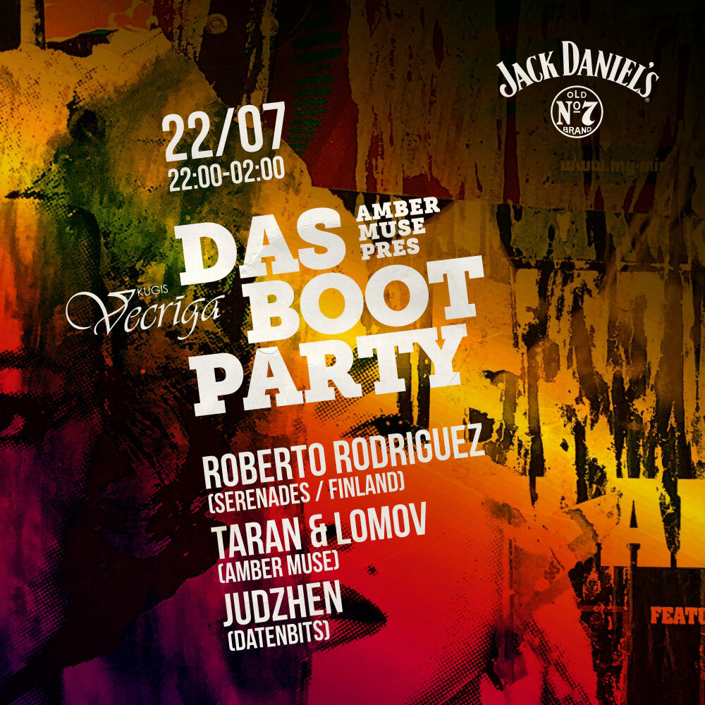 EVENT: Das Boot w/ Roberto Rodriguez (FIN) / 22 JULY