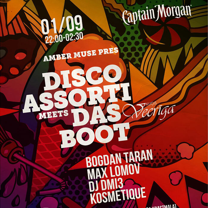 EVENT: Das Boot season finalé: Disco Assorti / 1 Sep