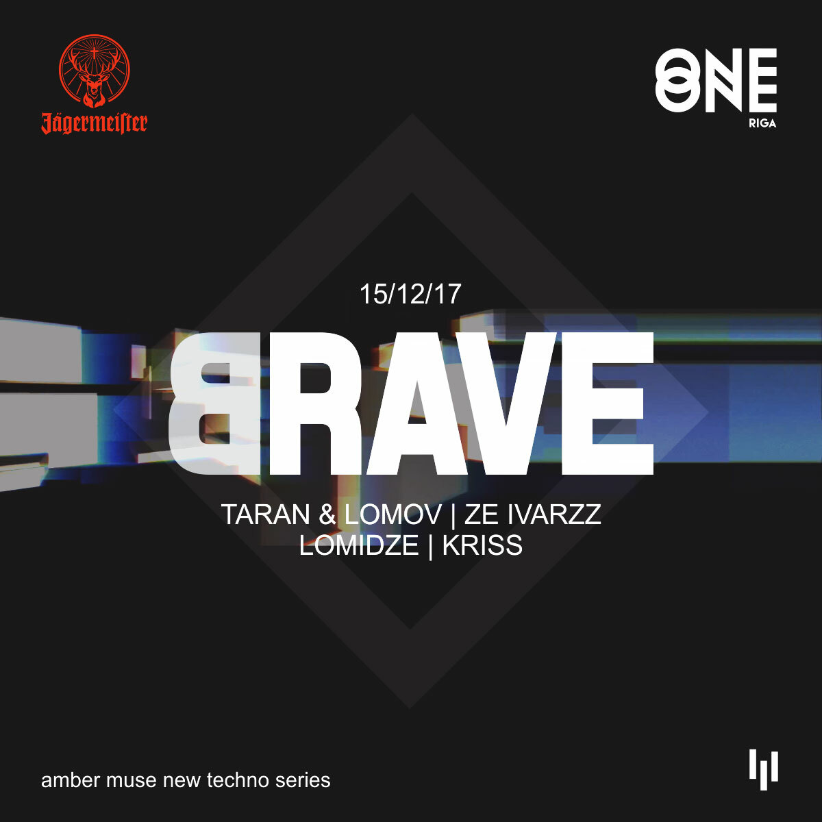 EVENT: Amber Muse's BRAVE at One One / 15 Dec