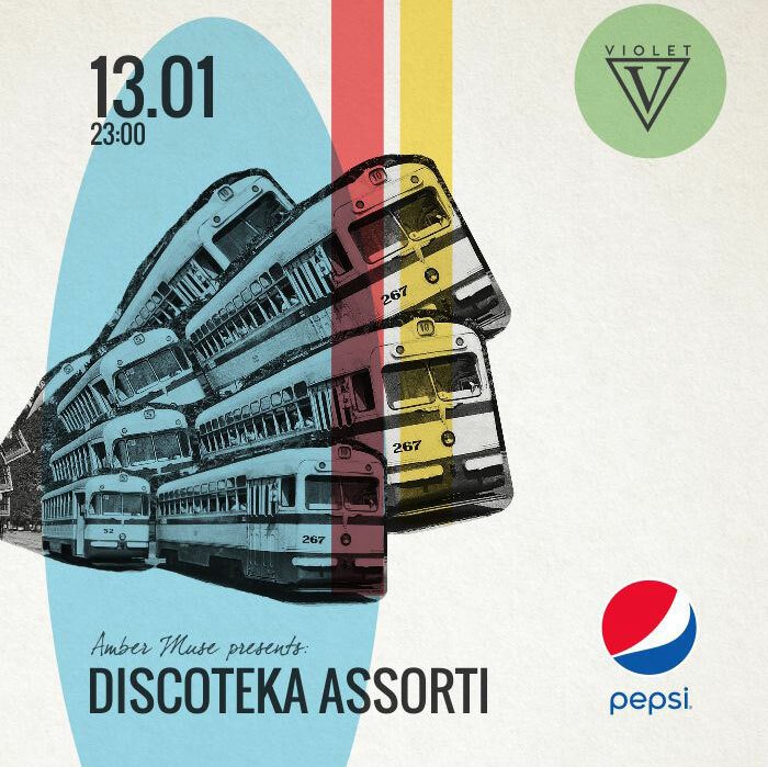 EVENT: Amber Muse's Discoteka Assorti / 13 Jan