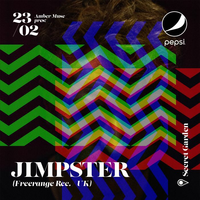 EVENT: Amber Muse pres Jimpster (UK) / 23 Feb