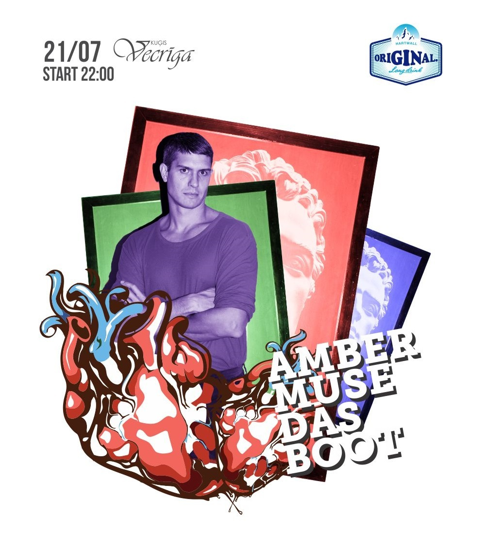 EVENT: Amber Muse's Das Boot w/ Heartthrob (Berlin) / 21 July