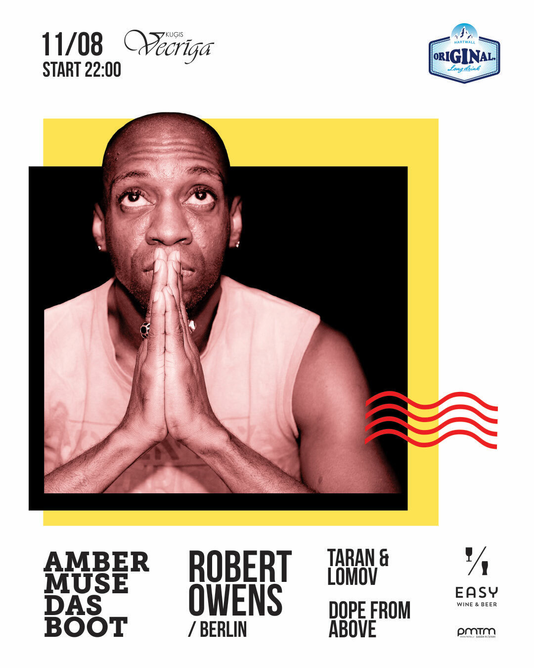 EVENT: Das Boot with Robert Owens / 11 Aug
