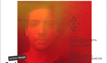 EVENT: Amber Muse's Fakultät: Franklin De Costa (Berlin) / 26 Apr