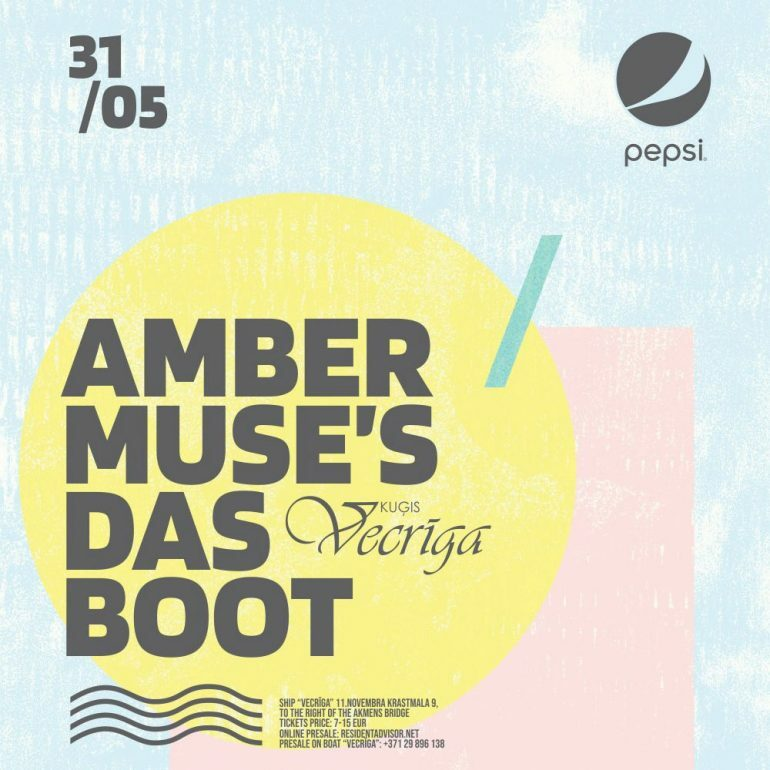 EVENT: Amber Muse's Das Boot / 31 May