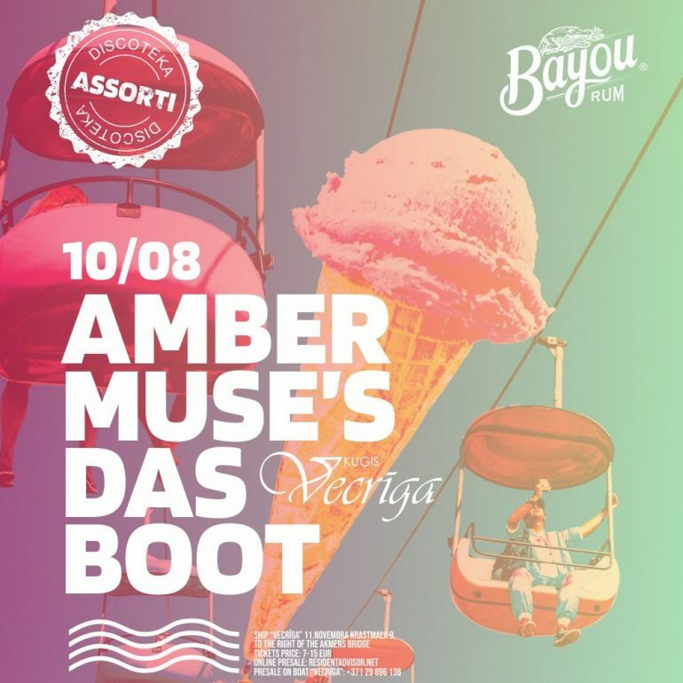EVENT: Amber Muse's Das Boot: Discoteka Assorti / 10 Aug