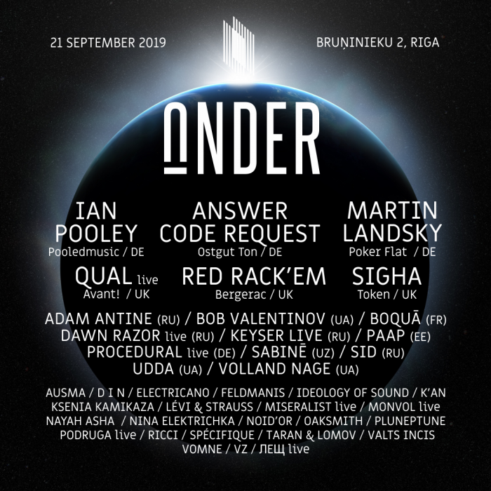 EVENT: UNDER Festival 2019