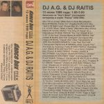 Classic Dance Box Mix: AG & Raitis