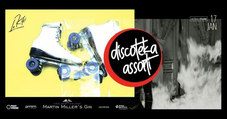 EVENT: Amber Muse's Discoteka Assorti / 17 Jan