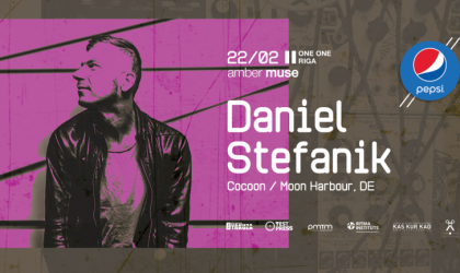 EVENT: Amber Muse: Daniel Stefanik (Cocoon, DE) / 22 Feb